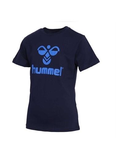 Hummel Borac T-Shırt Kısa Kollu Tışört Mavi